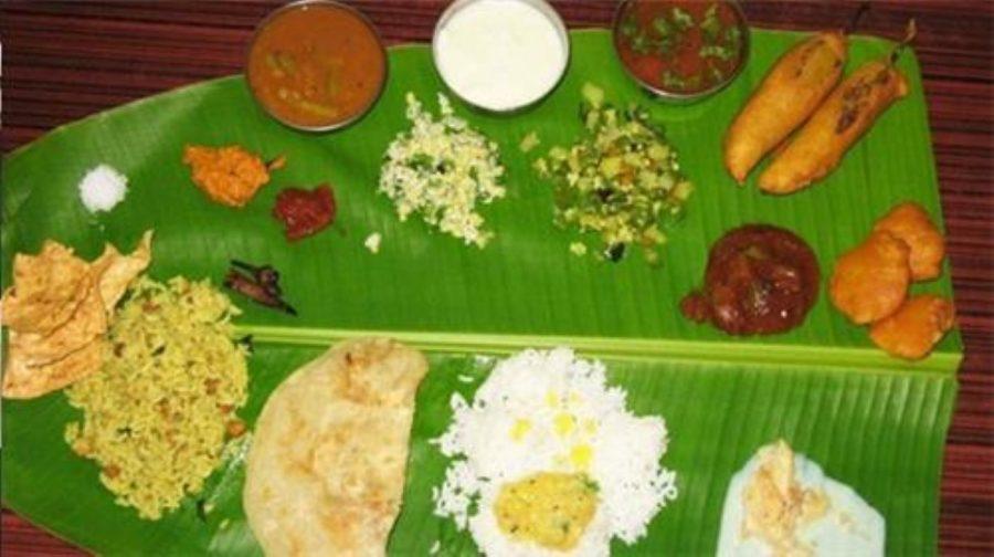 Güney Hindistan Thalisi