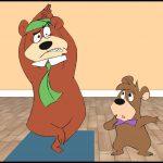 Yoga-Disney-Cartoon-Characture-Yogi-Bear-2