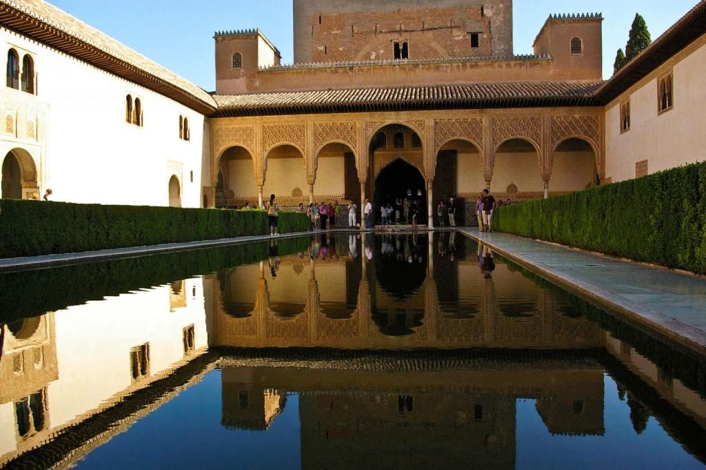 Alhambra-in-Granada-Spain