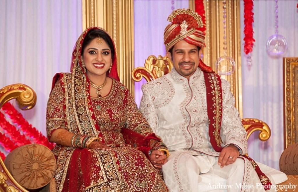 indian-wedding-bride-reception-bride-groom