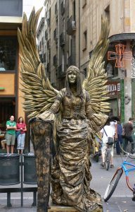 la ramblas heykel 6